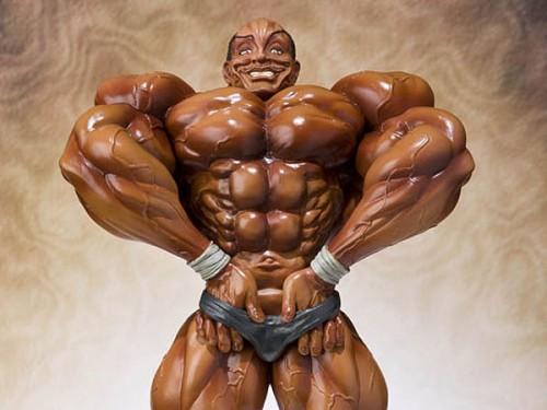 オリバ 筋肉