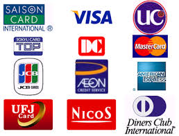 クレジット カード VISA UC JCB master AMEX