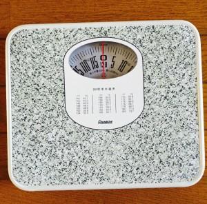 体重計 昭和