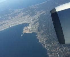 飛行機 現地