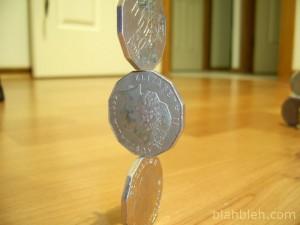 縦積み コイン